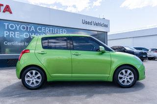 2010 Suzuki Swift EZ MY07 Update RE.4 Green 4 Speed Automatic Hatchback