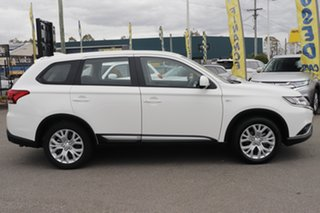 2020 Mitsubishi Outlander ZL MY21 ES 2WD White Solid 6 Speed Constant Variable Wagon