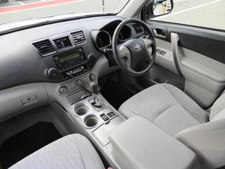 2008 Toyota Kluger GSU45R KX-R (4x4) 5 Seat White 5 Speed Automatic Wagon.