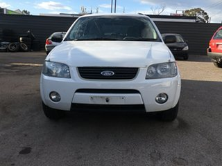 2007 Ford Territory SY TX AWD White 6 Speed Sports Automatic Wagon