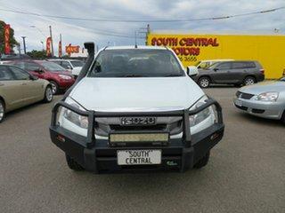 2015 Isuzu D-MAX TF MY15 SX (4x4) White 5 Speed Automatic Crew Cab Chassis.