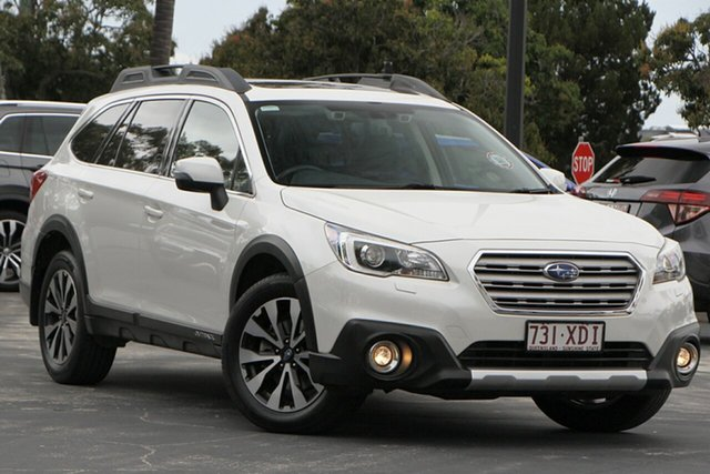Used Subaru Outback B6A MY16 2.0D CVT AWD Premium North Lakes, 2016 Subaru Outback B6A MY16 2.0D CVT AWD Premium White 7 Speed Constant Variable Wagon