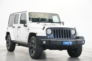 2018 Jeep Wrangler JL MY18 Unlimited Overland White 8 Speed Automatic Hardtop
