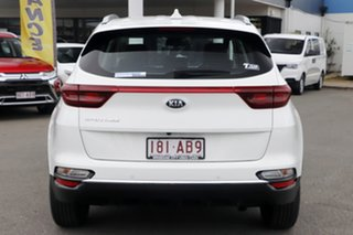 2020 Kia Sportage QL MY21 S 2WD Clear White 6 Speed Sports Automatic Wagon