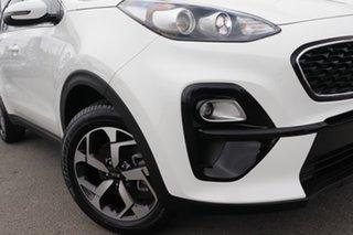 2020 Kia Sportage QL MY21 S 2WD Clear White 6 Speed Sports Automatic Wagon.