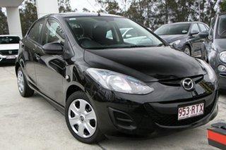 2011 Mazda 2 DE10Y1 MY10 Neo Black 5 Speed Manual Hatchback.