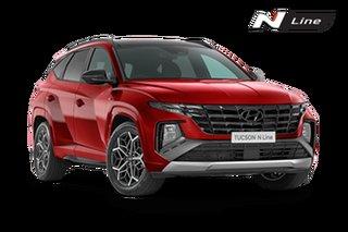 2021 Hyundai Tucson NX4.V1 Tucson Highlander N-Line Crimson Red 8 Speed Automatic SUV