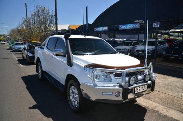 Used Holden Colorado RG MY15 LTZ (4x4) Toowoomba, 2014 Holden Colorado RG MY15 LTZ (4x4) White 6 Speed Automatic Crew Cab Pickup