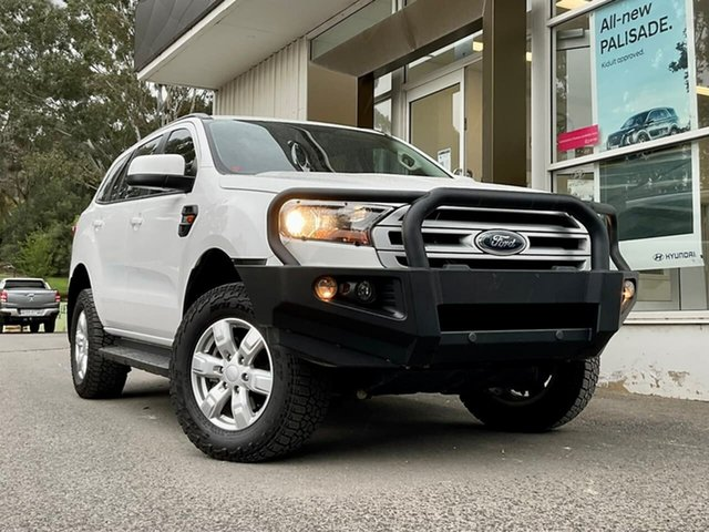 Used Ford Everest UA 2018.00MY Ambiente Clare, 2018 Ford Everest UA 2018.00MY Ambiente White 6 Speed Sports Automatic SUV