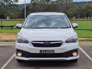 2020 Subaru Impreza G5 MY20 2.0i Premium CVT AWD White 7 Speed Constant Variable Hatchback.