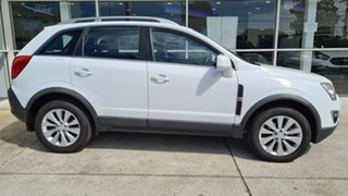 2014 Holden Captiva CG MY14 5 LT White 6 Speed Sports Automatic Wagon.