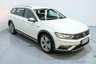 2017 Volkswagen Passat 3C (B8) MY17 140TDI DSG 4MOTION Alltrack White 6 Speed