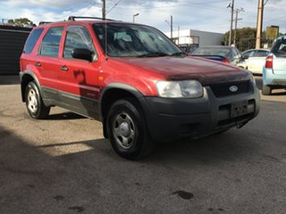 2002 Ford Escape BA XLS Red 4 Speed Automatic SUV.