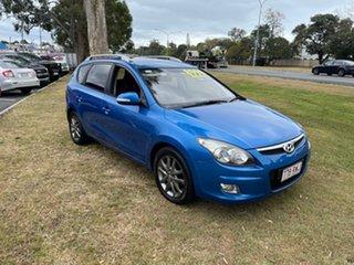 2011 Hyundai i30 FD MY11 SLX cw Wagon Blue 4 Speed Automatic Wagon.