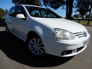 2009 Volkswagen Golf V MY09 Edition DSG White 6 Speed Sports Automatic Dual Clutch Hatchback.