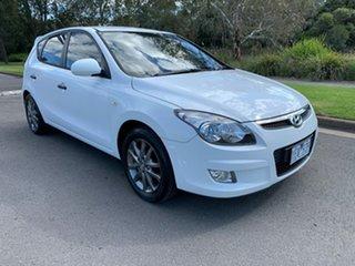2011 Hyundai i30 FD Trophy White Automatic Hatchback.
