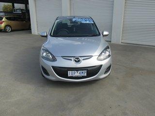 2010 Mazda 2 DE10Y1 MY10 Maxx Silver 4 Speed Automatic Hatchback.
