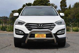 2012 Hyundai Santa Fe DM MY13 Highlander White 6 Speed Sports Automatic Wagon.