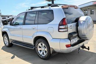 2003 Toyota Landcruiser Prado KZJ120R Grande Silver 4 Speed Automatic Wagon