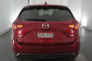 2017 Mazda CX-5 KF4W2A Akera SKYACTIV-Drive i-ACTIV AWD Soul Red 6 Speed Sports Automatic Wagon