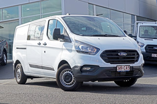 2021 Ford Transit Custom VN 2021.25MY 340L (Low Roof) White 6 Speed Automatic Double Cab Van.
