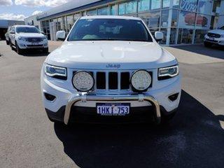 2016 Jeep Grand Cherokee WK MY15 Laredo White 8 Speed Sports Automatic Wagon.