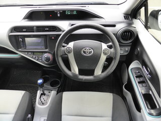 2012 Toyota Prius c NHP10R Hybrid Silver Continuous Variable Hatchback.
