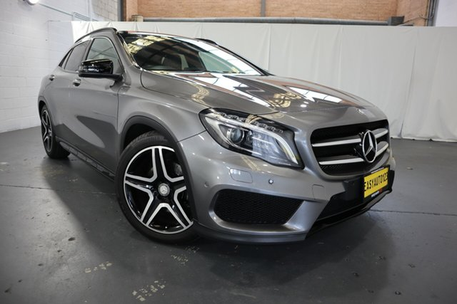 Used Mercedes-Benz GLA-Class X156 805+055MY GLA250 DCT 4MATIC Castle Hill, 2015 Mercedes-Benz GLA-Class X156 805+055MY GLA250 DCT 4MATIC Grey 7 Speed