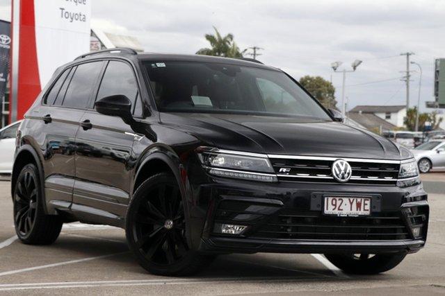 Pre-Owned Volkswagen Tiguan 5N MY19 Wolfsburg Edition DSG 4MOTION Albion, 2018 Volkswagen Tiguan 5N MY19 Wolfsburg Edition DSG 4MOTION Black 7 Speed