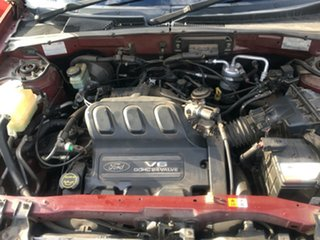 2002 Ford Escape BA XLS Red 4 Speed Automatic SUV