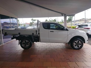 2016 Mazda BT-50 MY16 XT Hi-Rider (4x2) White 6 Speed Automatic Freestyle Cab Chassis.