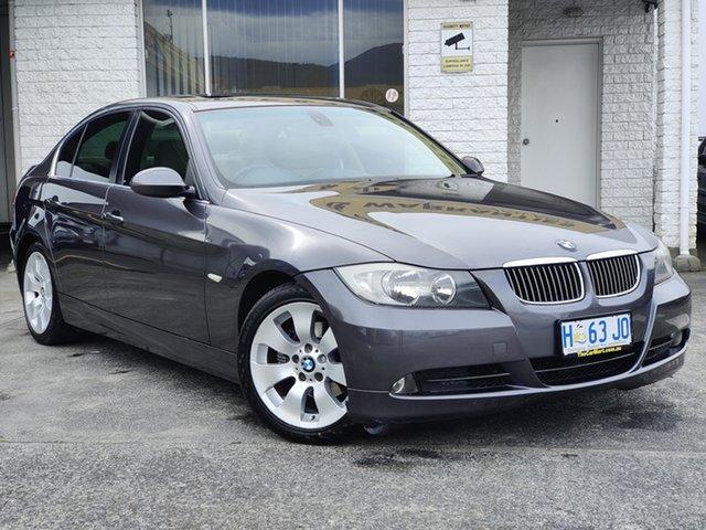 Used BMW 3 Series E46 MY2004 325i Steptronic Sport Derwent Park, 2005 BMW 3 Series E46 MY2004 325i Steptronic Sport Grey 5 Speed Sports Automatic Sedan