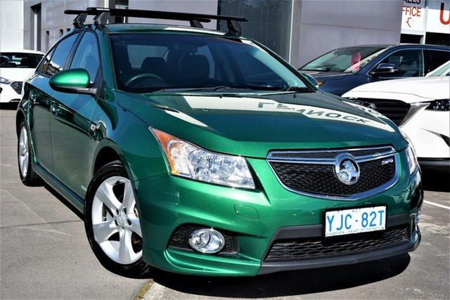 Used Holden Cruze JH Series II MY12 SRi Phillip, 2011 Holden Cruze JH Series II MY12 SRi Green 6 Speed Sports Automatic Sedan