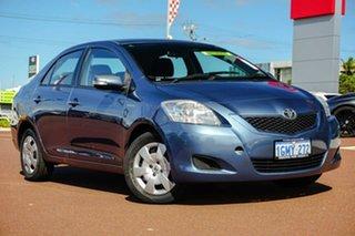2008 Toyota Yaris NCP93R YRS Blue 4 Speed Automatic Sedan.