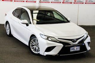 2017 Toyota Camry ASV70R SL Frosted White 6 Speed Automatic Sedan.