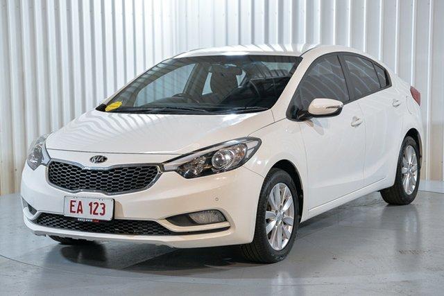 Used Kia Cerato YD MY15 S Premium Hendra, 2015 Kia Cerato YD MY15 S Premium White 6 Speed Sports Automatic Sedan