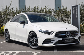 2019 Mercedes-Benz A-Class V177 A200 DCT Polar White 7 Speed Sports Automatic Dual Clutch Sedan.
