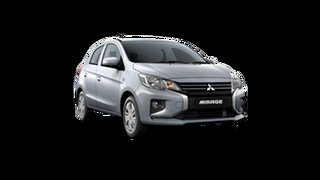 2021 Mitsubishi Mirage LB MY22 ES Cool Silver 1 Speed Constant Variable Hatchback