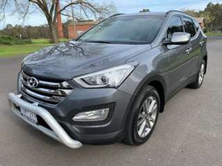 2013 Hyundai Santa Fe DM Elite Silver Sports Automatic Wagon.