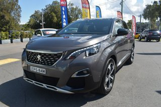 2018 Peugeot 3008 P84 MY18 GT Line SUV Grey 6 Speed Sports Automatic Hatchback