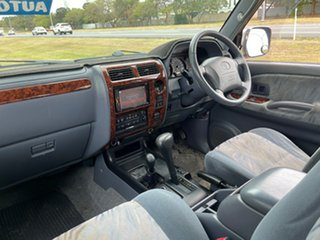 2001 Toyota Landcruiser Prado VZJ95R VX Maroon & Silver 4 Speed Automatic Wagon