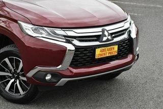 2017 Mitsubishi Pajero Sport QE MY17 GLX Maroon 8 Speed Sports Automatic Wagon