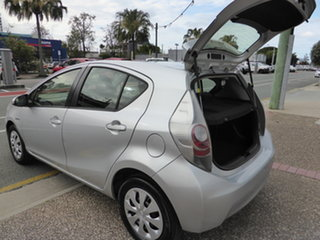 2012 Toyota Prius c NHP10R Hybrid Silver Continuous Variable Hatchback