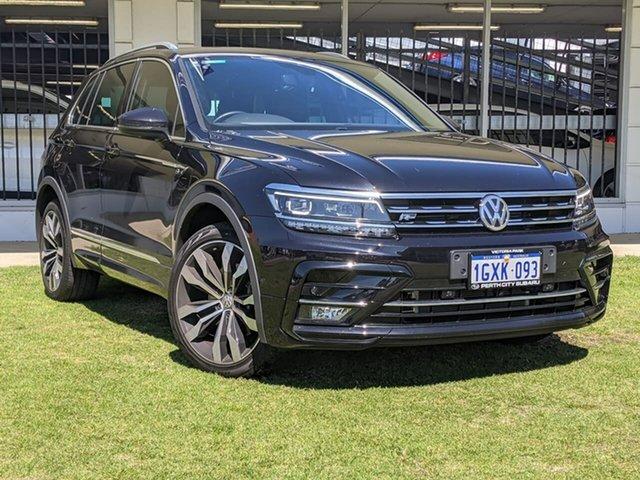 Used Volkswagen Tiguan 5N MY19.5 162TSI DSG 4MOTION Highline Victoria Park, 2019 Volkswagen Tiguan 5N MY19.5 162TSI DSG 4MOTION Highline Black 7 Speed