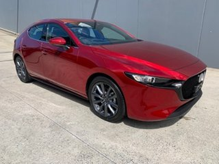 2021 Mazda 3 BP2H7A G20 SKYACTIV-Drive Touring Soul Red Crystal 6 Speed Sports Automatic Hatchback.