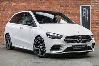 2021 Mercedes-Benz B-Class W247 801+051MY B180 DCT Polar White 7 Speed Sports Automatic Dual Clutch.