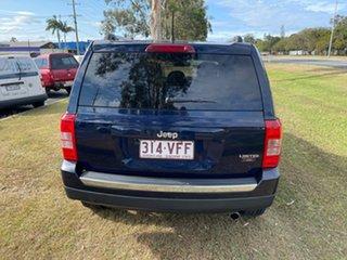 2014 Jeep Patriot MK MY14 Limited Blue 6 Speed Sports Automatic Wagon