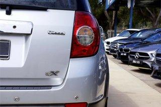 2010 Holden Captiva CG MY10 CX AWD Silver 5 Speed Sports Automatic Wagon