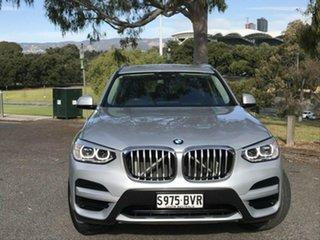2018 BMW X3 G01 sDrive20i Steptronic Silver 8 Speed Automatic Wagon.