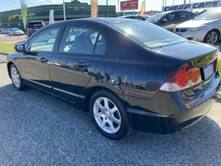 2006 Honda Civic 40 VTi Black 5 Speed Automatic Sedan.